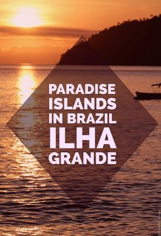 Paradise on Ilha Grande in Brazil. New post on the blog!