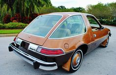 AMC Pacer   not sure year but think its in the 70's