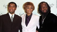 Babyface, Whitney, and Wyclef Jean