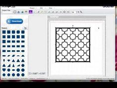 Lots of great Brother Scan N Cut video tutorials- Creating Masks Frames With ScanNCut Canvas
