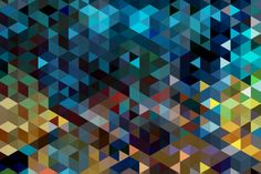 Pattern, triangle 3D  | EGG Office