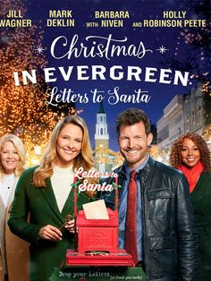 Romantic Letters for Her Best Of Christmas In Evergreen Letters to Santa Great Christmas Movies, Jill Wagner, Business Stationary, Mother Teach, Actor Studio, Hallmark Movies, Santa Letter, Romance Movies, View Video