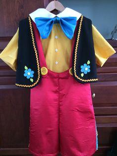 Pinocchio's Costume