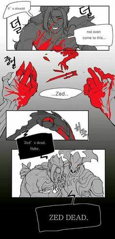 Zed's dead, baby. Zed's dead.