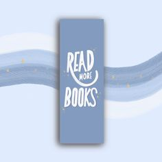 Diy Design, Bookmarks, Read More, Etsy, Reading, Books, Gifts For Book Lovers, Marque Page, Craft Gifts