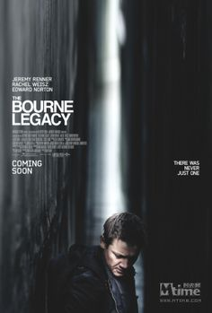 Movie: The Bourne Legacy. For some reason I can't flip past this when I see it on TV. Honestly I like it more than the previous Bourne movies.
