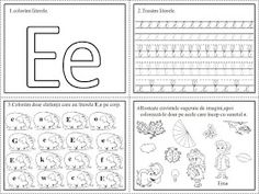 EDUCATIA CONTEAZA : FISE DE LUCRU - LITERELE ALFABETULUI - CLR (COMUNICARE IN LIMBA ROMANA) Homework Sheet, Letter Worksheets, Mathematics, Diy And Crafts, Preschool, Bullet Journal, Classroom, Lettering, David