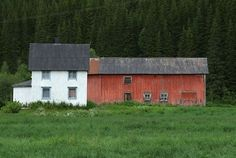 An old farm in Norway.