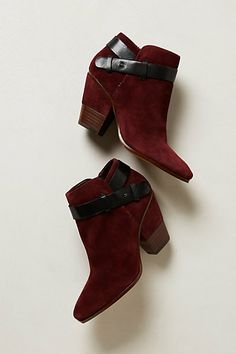 Dolce Vita Hilary booties - my burgundy/deep red/wine colored booties obsession continues :)