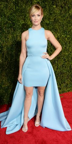Tony Awards 2015: See All the Best Looks - Beth Behrs from #InStyle
