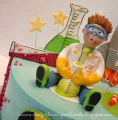 mad science cake - Google Search