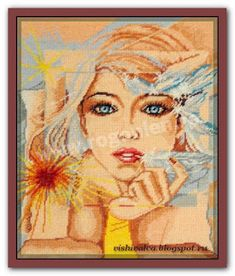 "Download embroidery scheme Rogoblen 5.14 ""Reflection"""