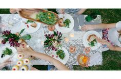 An Afternoon Alfresco, set the table for a party-perfect look.