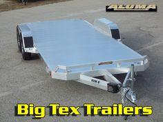 All Aluminum Aluma 7x18 Car Trailer Car Hauler $5250