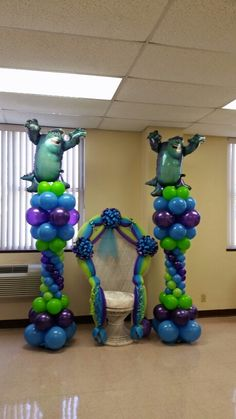 Monster themed baby shower