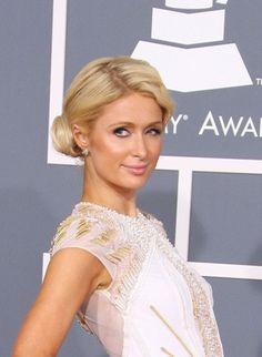Paris Hiltons sophisticated chignon
