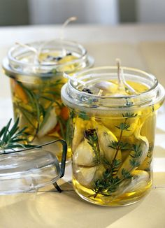 """confit au thym et au romarin Ail confit au thym et au romarinAiles Ailes or aile may refer to: Aile is the French word for """"Wing"""" Cooking Tips, Cooking Recipes, Healthy Recipes, Chutney, Fingers Food, Marinade Sauce, Good Food, Yummy Food, Food Tags"""