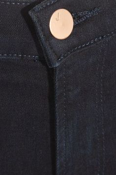 J Brand - Selena Cropped Mid-rise Flared Jeans - Dark denim - 25