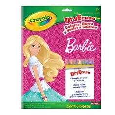 Drye Erase Barbie Cuaderno Crayola - Bebitos $111 #crayola # niños #diversión #moda #fun