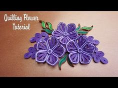 Subscribe Ankhang Handmade: https://goo.gl/q7PGaz In this video I show you how to amke simple quilling flower Thank for watching, Please Like Share And SUBSC...