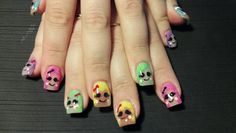 #Lalaloopsy #nails