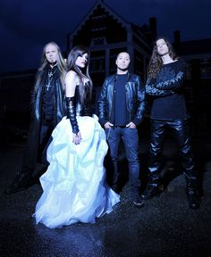 SIRENIA band. Ailyn