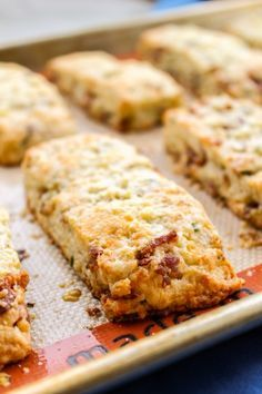 Overnight Bacon and White Cheddar Scones