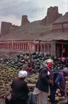 Watermelons in Afghanistan