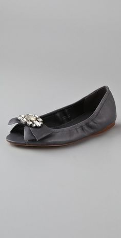 Vera Wang Lavender Line | Vera Wang Lavender Lucie Ballet Flats in Gray (charcoal) - Lyst