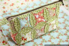 Spring cosmetic bags