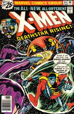 The X-Men #99 (1963 series) - cover by Dave Cockrum