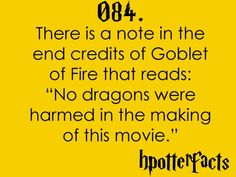 #hpotterfacts 084 I have TOTALLY caught this