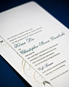 "See+the+""Mixed+Font+Invitation""+in+our+Classic+Wedding+Invitations+gallery"
