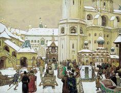 Площадь Ивана Великого в Кремле. XVII век, 1903