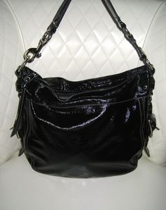 d3d2354dfef8 Hobo bags are hot this season! The Coach Black Patent Leather Hobo Bag is a  top 10 member favorite on Tradesy.