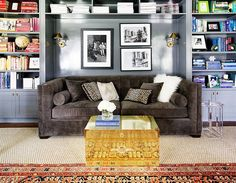 Home Office Decor Ideas: 10 Best Home Offices 2015   Domino