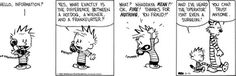 Calvin and Hobbes - Google+