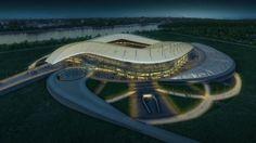 Fußball-WM 2018: Populous entscheidet Wettbewerb für Stadion in Rostov für sich