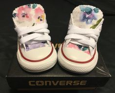 Converse Shoes Floral Toddler Sizes