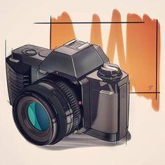 46 New Ideas Design Sketch Camera Drawings Camera Sketches, Camera Drawing, Pencil Sketching, Book Design Layout, Sketch Design, Book Cover Design, Copic Drawings, Industrial Design Sketch, Sketch Inspiration