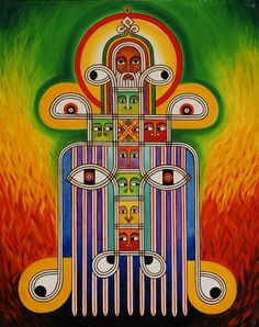 """HOT PICK #1 - Oil on canvas, taken from the """"Made in Ethiopia series""""  ©2007/2000et Abba Yahudah www.abbayahudah.com"""