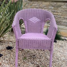 My Henrietta painted chair using Annie Sloan Chalk Paint
