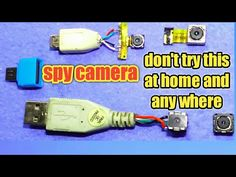 Queries solved: diy spy camera How to make spy cctv camera at home with old mobile camera old mobile to make 70 rs spy camera How to make spy cam. Electronic Gadgets For Men, Electronic Circuit Projects, Spy Gadgets, Cool Electronics, Electronics Projects, How To Clean Computer, Wireless Spy Camera, Wireless Speakers, How To Make Camera