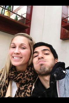 Sofia and Luis Suarez
