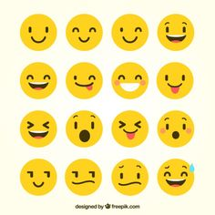 (Funny Emoji) free vector variety of funny emoji in flat Cute Girl Wallpaper, Cute Wallpaper For Phone, Cute Wallpaper Backgrounds, Simple Backgrounds, Cute Wallpapers, Smileys, Adobe Illustrator, Glitch, Design Plat