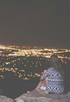 just me myself and I on top of the world