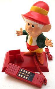 Vintage Novelty Keebler Elf Telephone Retro Home Phone 1980s ...