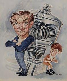 "gunsmoke Caricatures | Jonathan Harris, Robot, Billy Mumy: ""Lost in Space"""