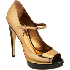 Platform Peep Toe Mary Jane