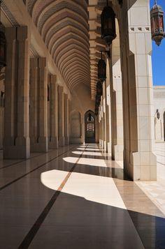 Sultan Qaboos Grand Mosque, Muscat (Oman).